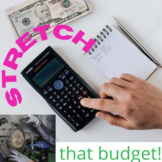 Let's Talk Budgets (and An Easy Way to Stretch Funds)!